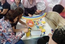 Мастер-класс по изготовлению коллективных работ с воспитанниками разного возраста